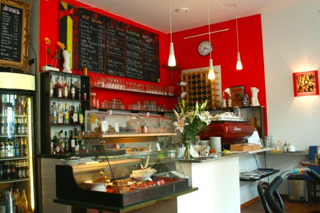 St Gaudy Street cafe